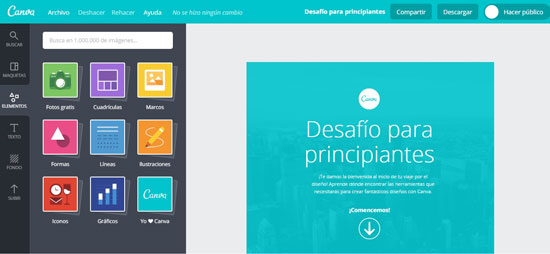 Diseñar nunca fue tan sencillo: Conoce CANVA, el programa Online ...